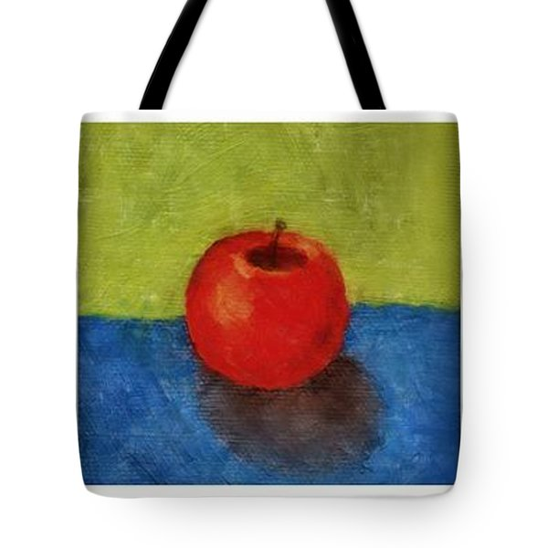 Lime Apple Lemon Tote Bag by Michelle Calkins