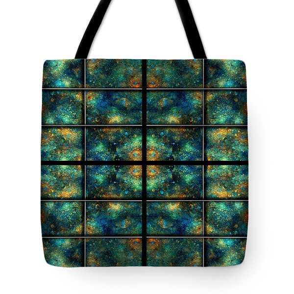 Limitless Night Sky Tote Bag by Betsy A  Cutler