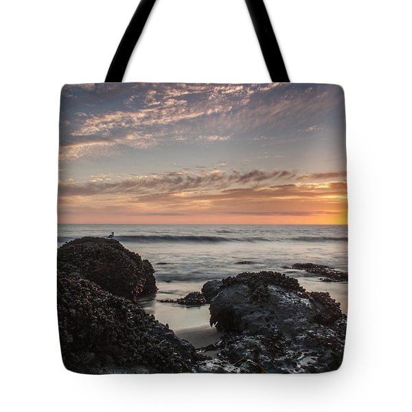 Lincoln City Beach Sunset - Oregon Coast Tote Bag by Brian Harig