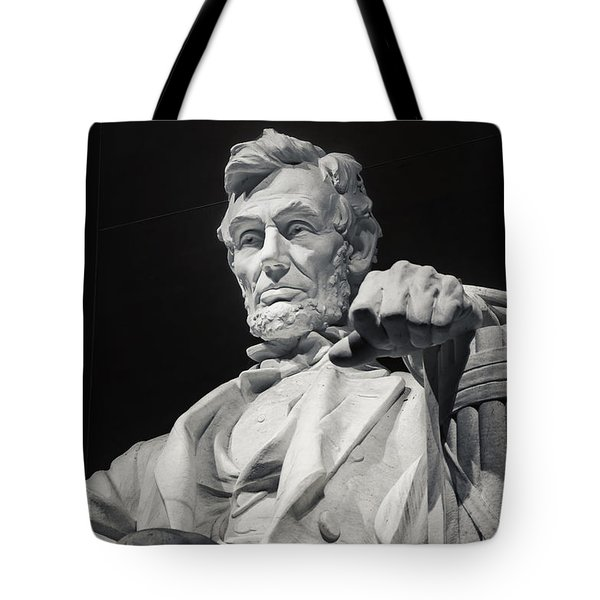 Lincoln Tote Bag by Joan Carroll
