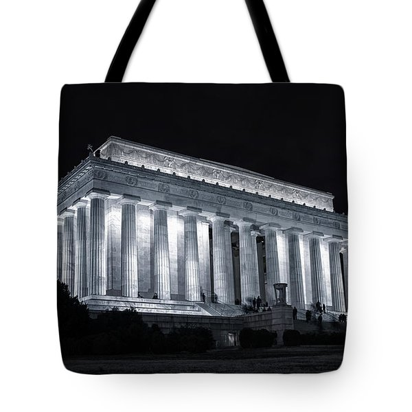 Lincoln Memorial Tote Bag by Joan Carroll