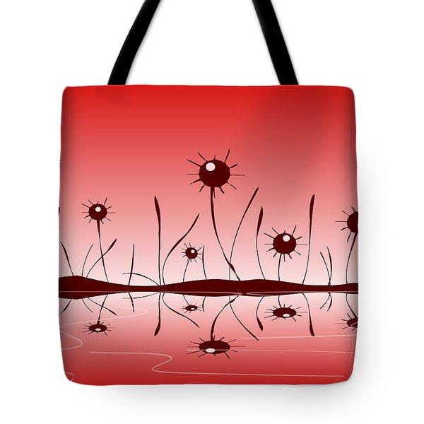 Line of Defense Tote Bag by Anastasiya Malakhova