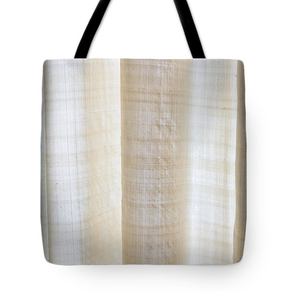 Linen Curtain Tote Bag by Tom Gowanlock