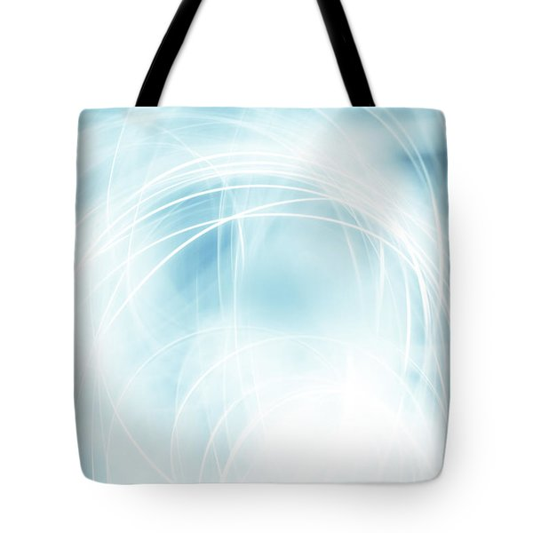 Lines Tote Bag by Les Cunliffe