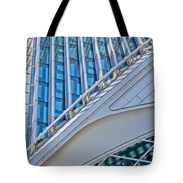 Lines Of The Calatrava Tote Bag by Mary Machare