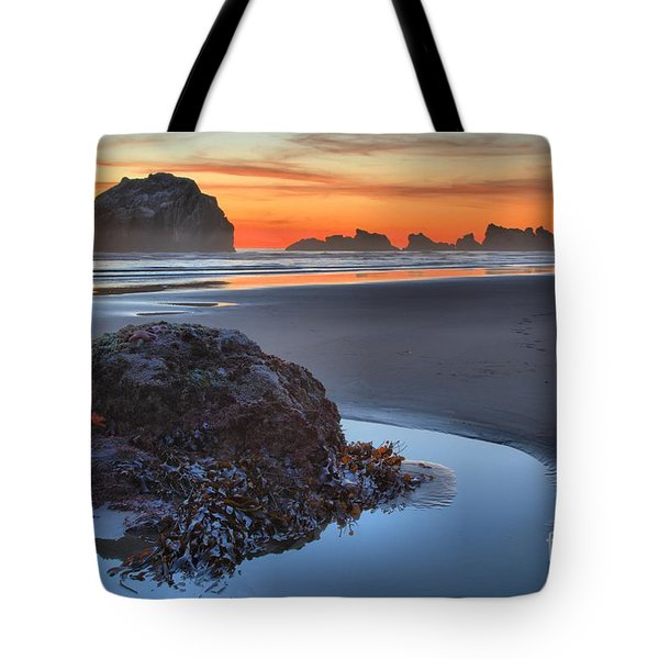 Lining Up For The Shot Tote Bag by Adam Jewell