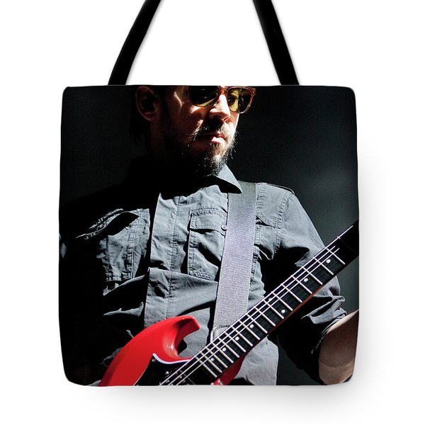 Linkin Park4619 Tote Bag by Timothy Bischoff