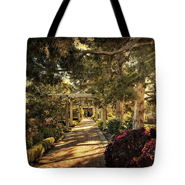 Linnaeus Teaching Garden Tote Bag by Tamyra Ayles