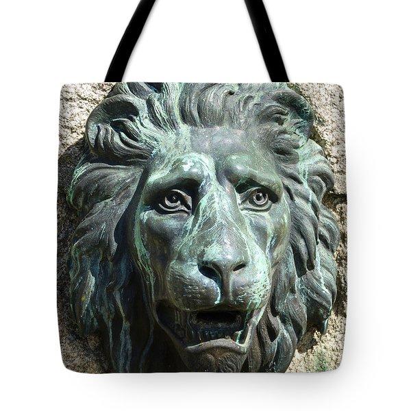 Lion King Tote Bag by Charlie Brock