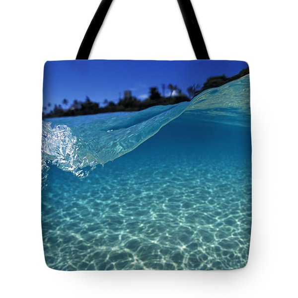 Liquid Energy Tote Bag by Sean Davey