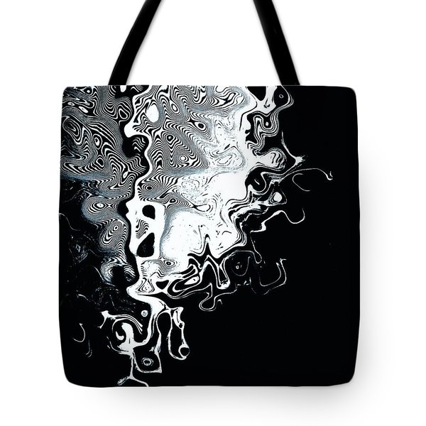 Liquid Feather Tote Bag by Chris Berry