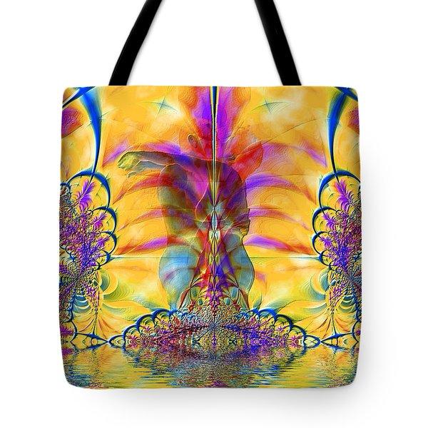 Liquid Lace Tote Bag by Kurt Van Wagner