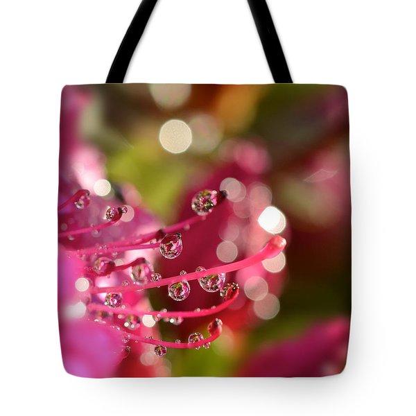Liquid Light Tote Bag by Lisa Knechtel