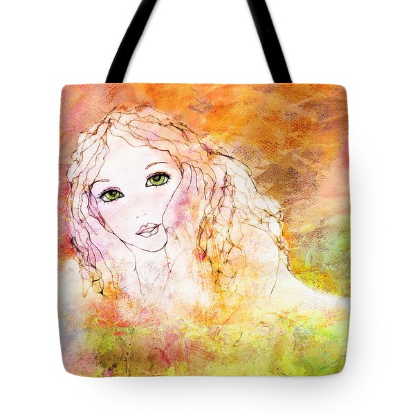 Listen To The Colour Of Your Dreams Tote Bag by Barbara Orenya