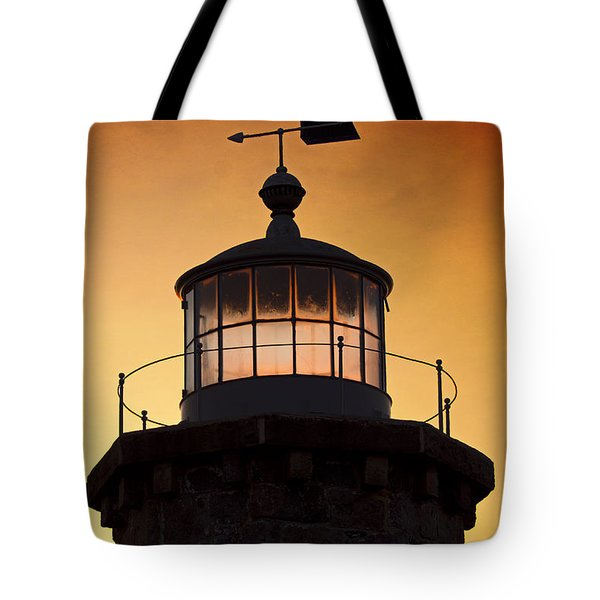 Lit House Tote Bag by Joe Geraci