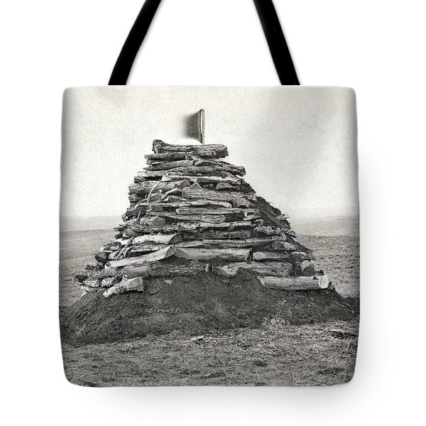 Little Bighorn Monument Tote Bag by Granger