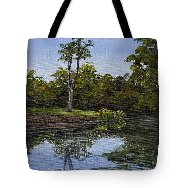 Little Chico Pond Tote Bag by Darice Machel McGuire