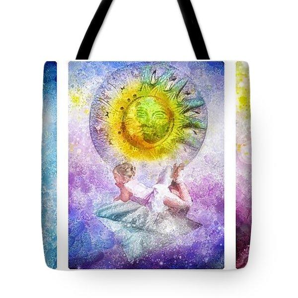 Little Dream Triptic Tote Bag by Mo T