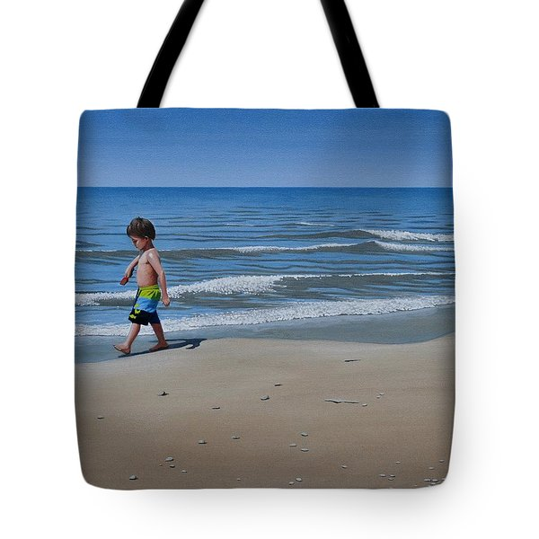 Little Explorer Tote Bag by Kenneth M  Kirsch