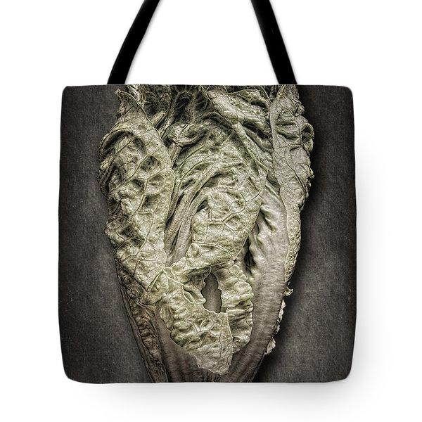 Little Gem Lettuce Tote Bag by Tom Mc Nemar