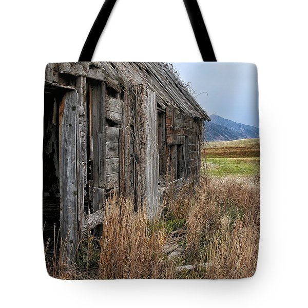 Little House On The High Plains Tote Bag by Kathleen Bishop