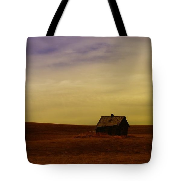 Little House On The Prairie  Tote Bag by Jeff Swan