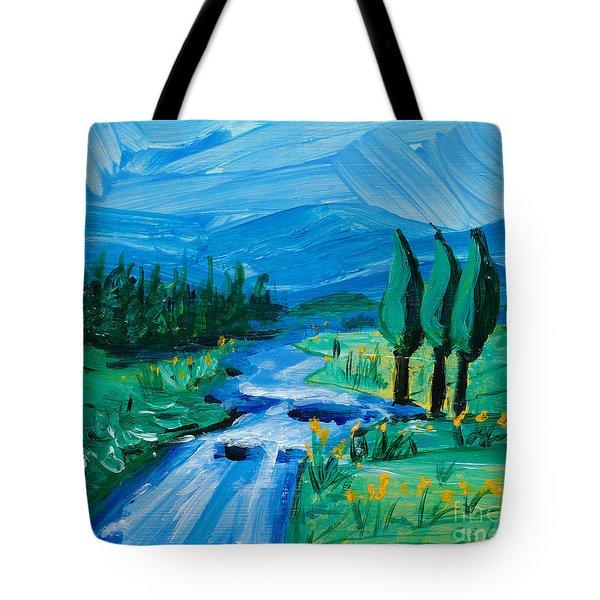 Little Landscape Tote Bag by Lidija Ivanek - SiLa
