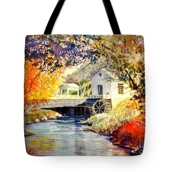 Little Mill Tote Bag by Marilyn Smith