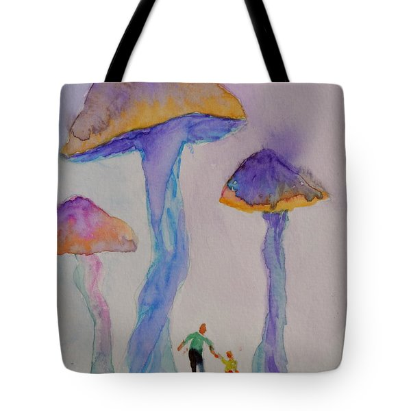 Little People Tote Bag by Beverley Harper Tinsley