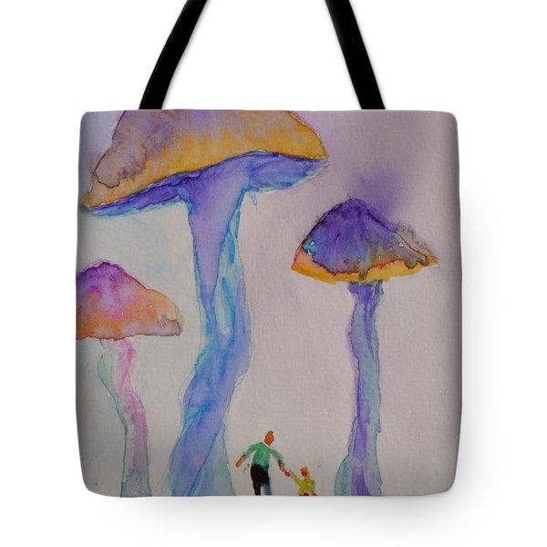 Little People Tote Bag by Beverley Harper Tinsley