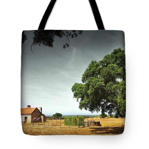 Little Rural House Tote Bag by Carlos Caetano
