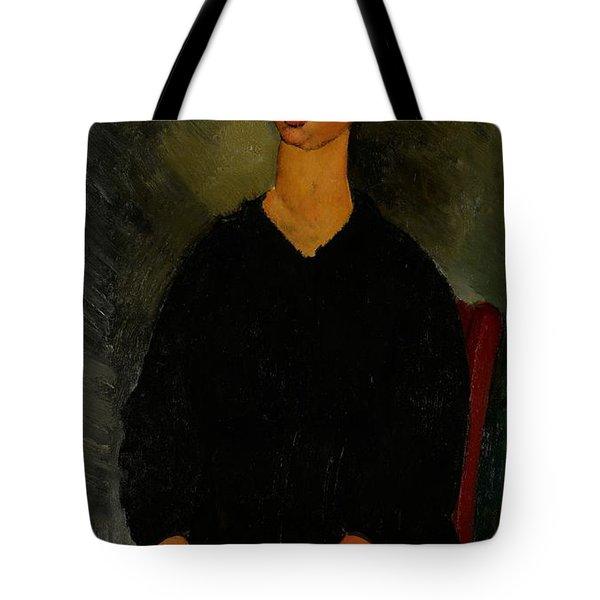 Little Servant Girl Tote Bag by Amedeo Modigliani