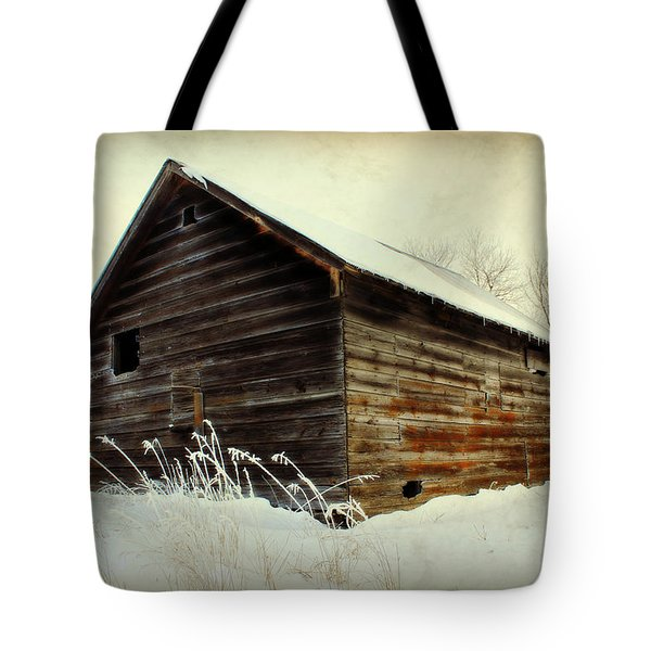 Little Shed Tote Bag by Julie Hamilton