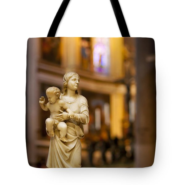 Little Statue Tote Bag by Brian Jannsen