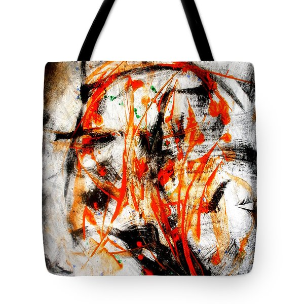 Little Swan Head Tote Bag by David Gatinois