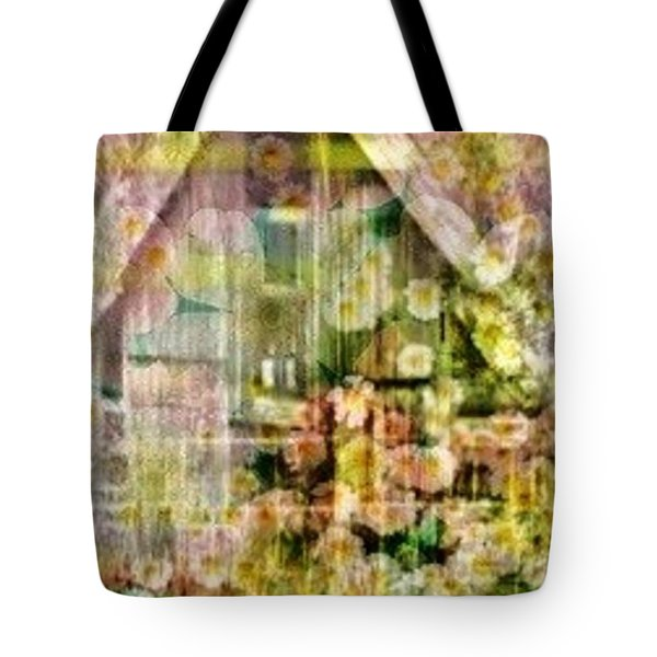 Little Witch Cottage Tote Bag by PainterArtist FIN