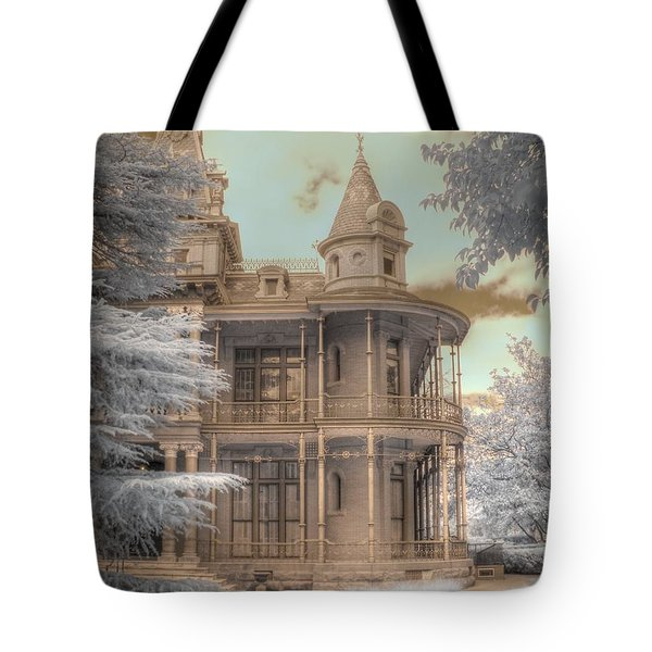Littlefield mansion Tote Bag by Jane Linders