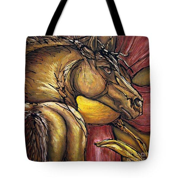 Live Again Tote Bag by Jonelle T McCoy