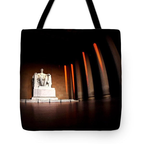 Live By The Light Tote Bag by Mitch Cat