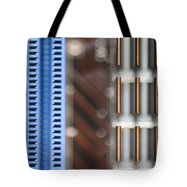 Living Digital Tote Bag by Angelina Vick