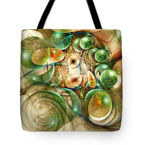 Living Organisms Tote Bag by Anastasiya Malakhova