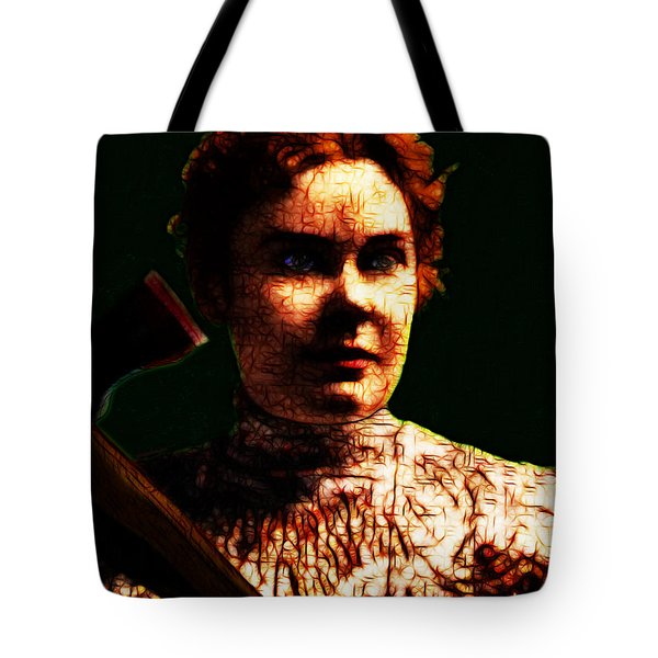 Lizzie Tote Bag by Wingsdomain Art and Photography