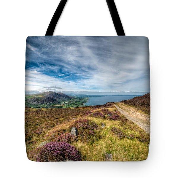 Llyn Peninsula Tote Bag by Adrian Evans