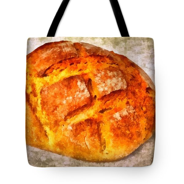 Loaf of bread Tote Bag by Matthias Hauser