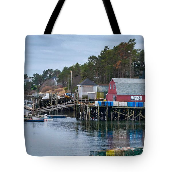 Lobstering Tote Bag by Guy Whiteley