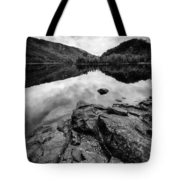 Loch Beinn A Mheadhoin Tote Bag by Dave Bowman