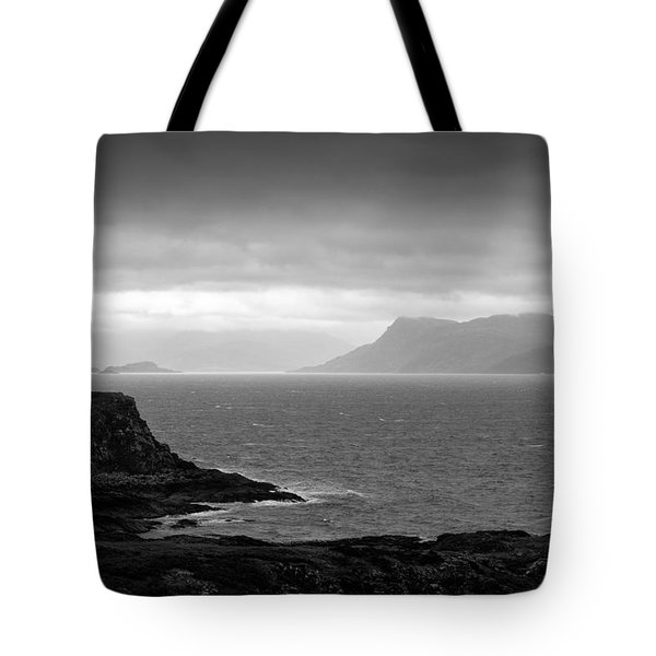 Loch Hoarn Tote Bag by Dave Bowman