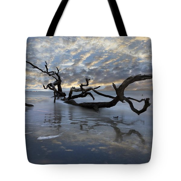 Loch Ness Tote Bag by Debra and Dave Vanderlaan