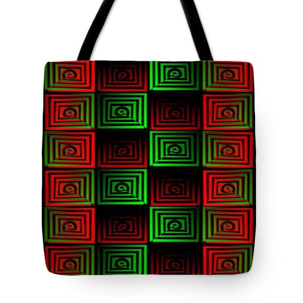 Locked Up Tote Bag by Anastasiya Malakhova
