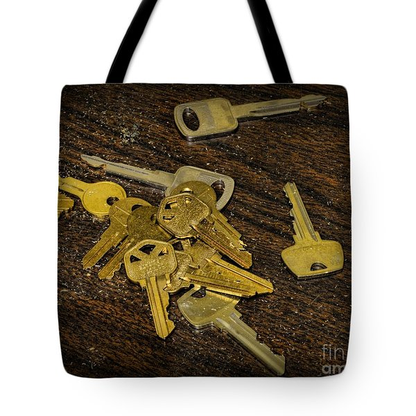 Locksmith - Rejected Keys Tote Bag by Paul Ward